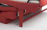 Раскладной диван METROPOLIS с ортопедическим матрасом шириной 180 см, фабрика Alberta Salotti (Италия) , фото 8
