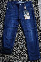Зимние джинсы на флисе для мальчиков подростков , рост 134-, Венгрия