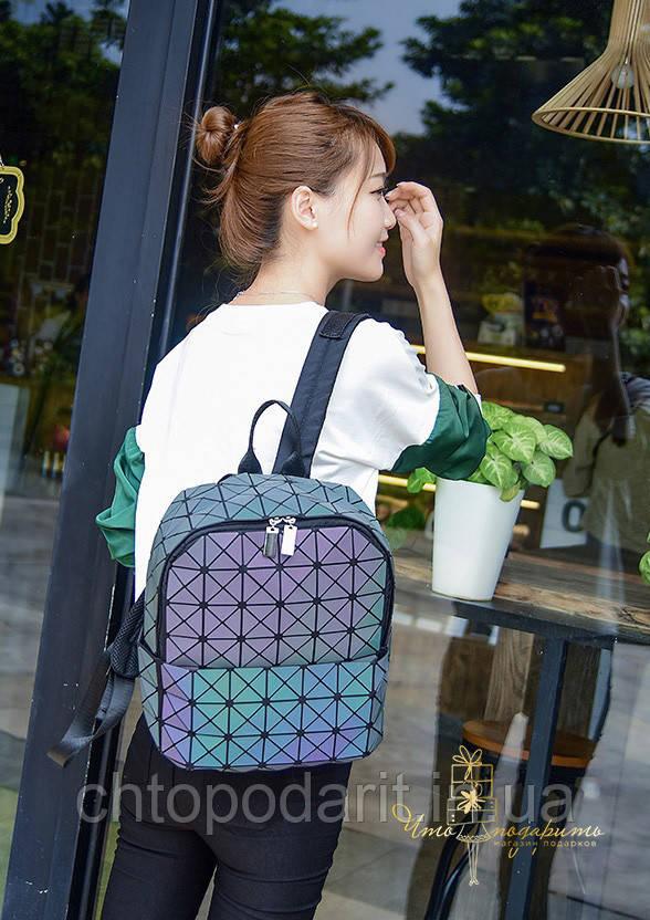 Стильный рюкзак детский Bao Bao геометрический голографический