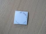 Наклейка s круглая Daewoo 15х15х1.2мм силиконоая в круге на авто ключи сигнализацию Деу Дэу, фото 2