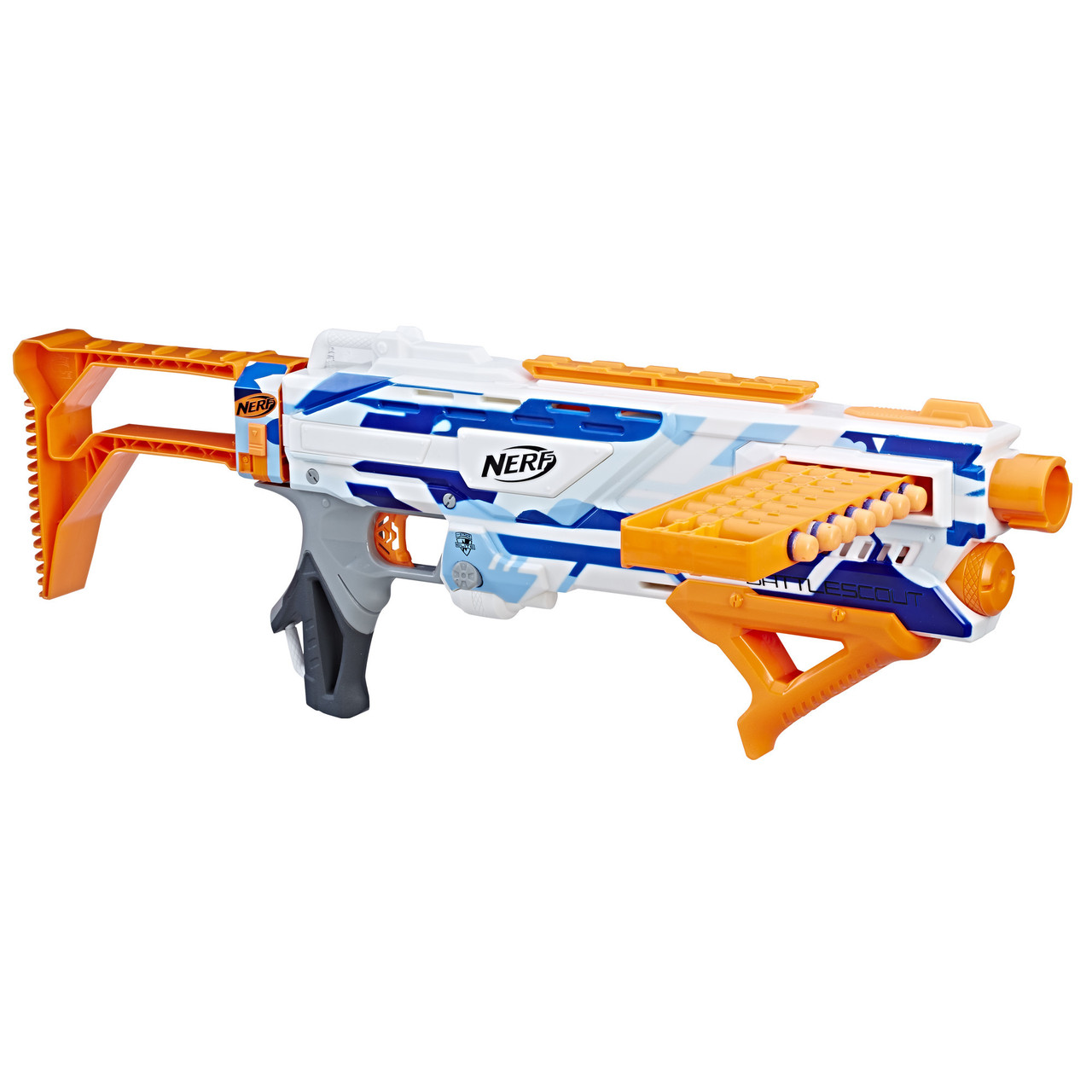 Nerf Бластер элит N-Strike Elite BattleScout ICS-10