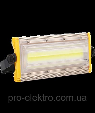 LED Прожектор Biom 50W AL PRO, COB AL PRO  PROFESSIONAL, 50W, Lum 5500, IP65, 6500К мощность 100%, фото 2
