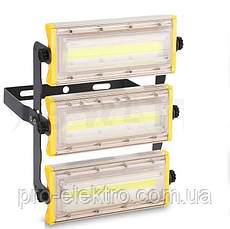 LED Прожектор Biom 50W AL PRO, COB AL PRO  PROFESSIONAL, 50W, Lum 5500, IP65, 6500К мощность 100%, фото 3