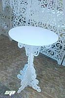 """Свадебный столик для росписи серии """"Классика"""", ажурный стол, фото 1"""