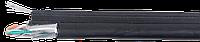ITK Кабель связи витая пара F/UTP, кат.5E 4х2х24(0,51мм)AWG, LDPE трос 1,2мм, 305м, черный