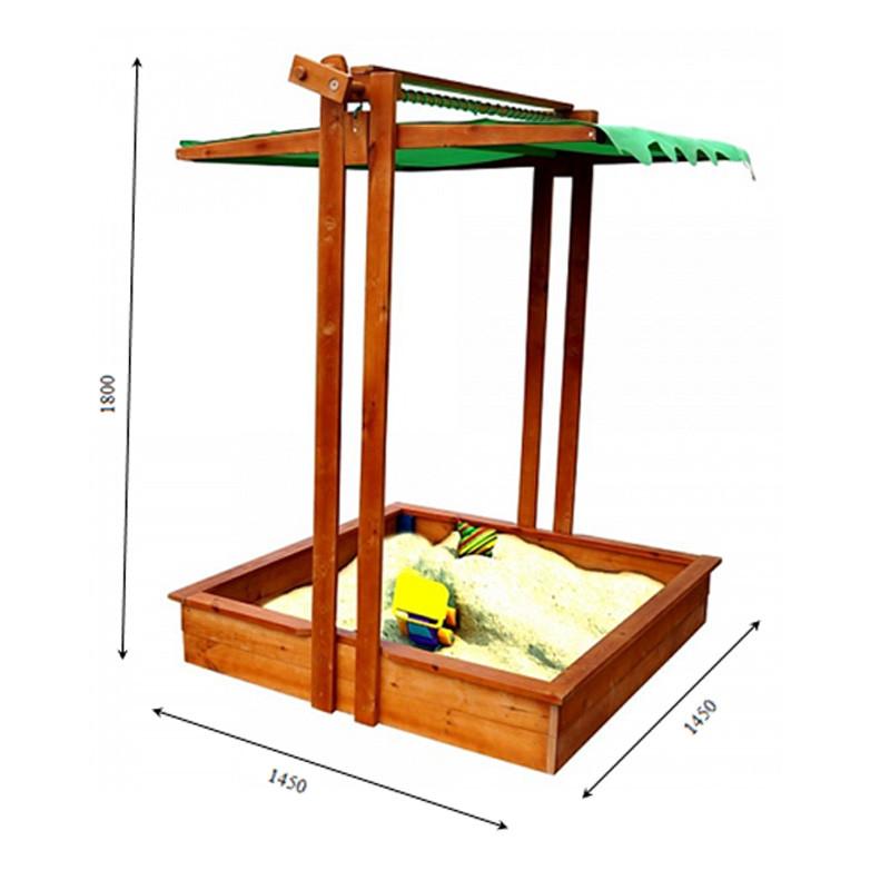 Песочница с крышкой, фото 1