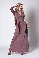 Платье мод 724-1 ,размер 40,46,50 бордо