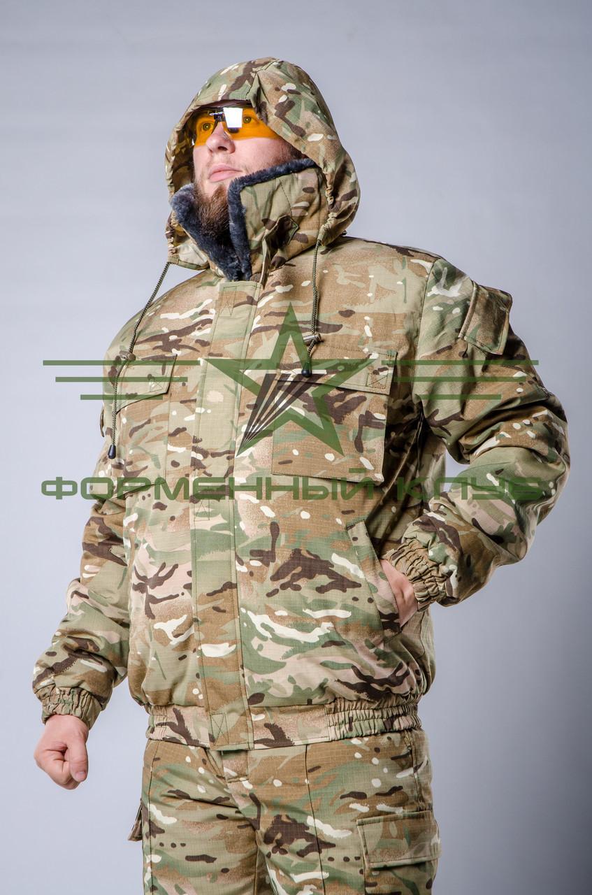 Куртка камуфляжная зимняя Мультикам