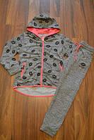 Венгерские спортивные трикотажные костюмы двойки для девочек.Размеры 140-146 см.Фирма S&D