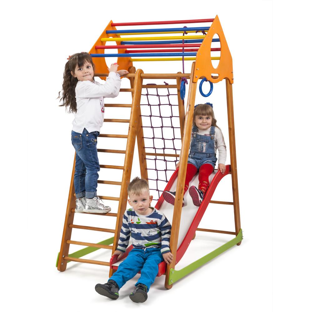 Детский спортивный комплекс SportBaby BambinoWood Plus 1