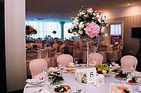 """Цветочная композиция на столы гостей """"Хром подсвечник"""", фото 1"""