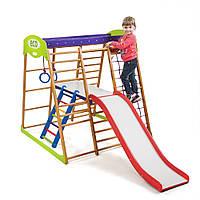 SportBaby Детский спортивный комплекс для квартиры Карамелька Plus 2