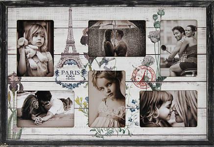 """Фоторамка коллаж """"Paris"""" 38х53см., рамка для фотографий, настенный декор и подарок, фото 2"""