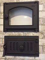 Печные дверцы svt 451 и зольный люк svt 432