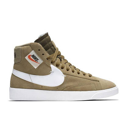 "Кроссовки Nike Blazer Mid ""Rebel Neutral Olive"" (Оливковые), фото 2"