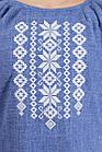 Женское платье с вышивкой (джинс), фото 5