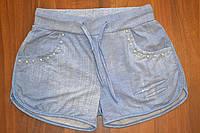 Трикотажные шортики для девочек ,размеры 134-164 см,фирма S&D.Венгрия