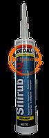 Герметик силіконовий для акваріумів Silirub AQ 310мл Soudal прозорий