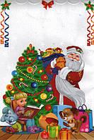Пакет Новогодний полипропиленовый (металл+ рисунок) 20 /35 см