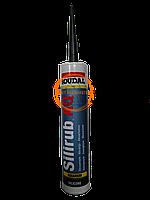 Герметик силіконовий для акваріумів Silirub AQ 310мл Soudal чорний
