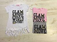 Трикотажные футболки для девочек SINCERE 134-164 p.p.