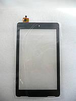 Тачскрин сенсор для Explay Surfer 7.03, DY-F-07027-V4, 7, размер 186x109 мм, 6 pin, черный