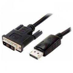 Кабель DisplayPort to DVI (2 феррита, DVI-D) 1.8m Atcom (9504)
