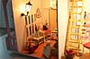 Кукольный домик MY LITTLE HOUSE с мебелью и светом, фото 7