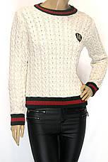 Женский свитер с косами Gucci, фото 2