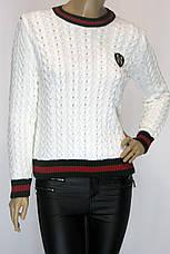 Женский свитер с косами Gucci, фото 3