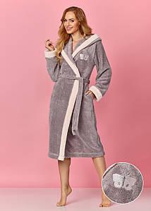 Жіночий халат L&L 8137  довгий