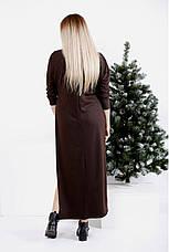 Платье двойка женское трикотажное размеры: 42-74, фото 3