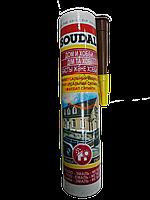 Герметик універсальний силіконовий 300мл Soudal коричневий