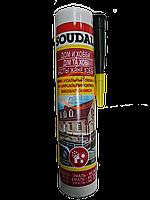 Герметик універсальний силіконовий 300мл Soudal чорний