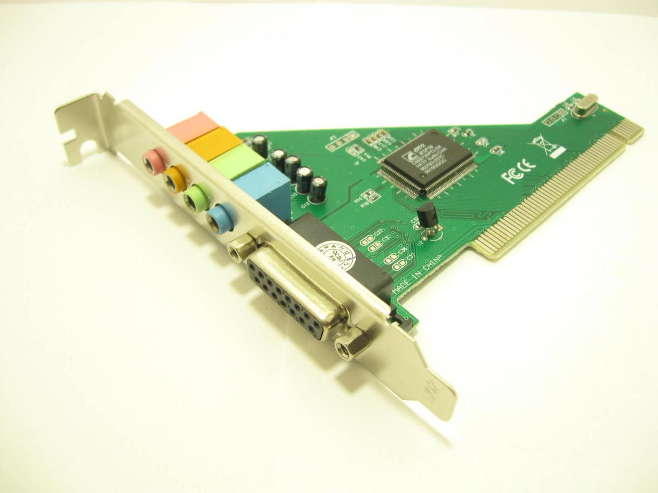 Звуковая карта PCI - 5.1CH (c-media 8738), BOX