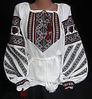 Женская вышитая блуза из натуральной ткани, фото 1