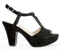 Черные женские босоножки 177062 37, фото 1