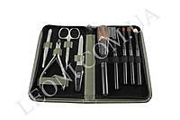 Набор маникюрного инструмента ZaubeR 050 с кисточками для макияжа
