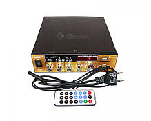 Усилитель звука UKC SN-003BT Bluetooth, USB, FM, фото 3
