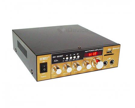 Усилитель звука UKC SN-003BT Bluetooth, USB, FM, фото 2