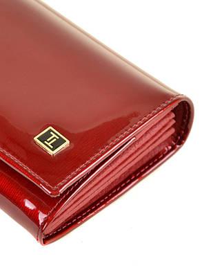 Женский кожаный лаковый кошелек BRETTON W501/2, фото 2