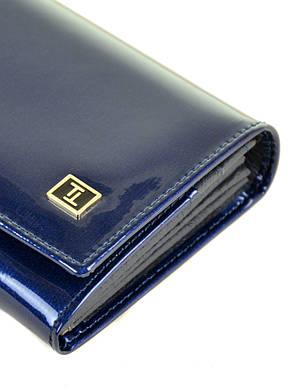 Женский кожаный лаковый кошелек BRETTON W501/3, фото 2