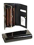 Женский кожаный лаковый кошелек BRETTON W1/1, фото 2