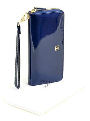 Женский кожаный лаковый кошелек BRETTON W38/3, фото 2