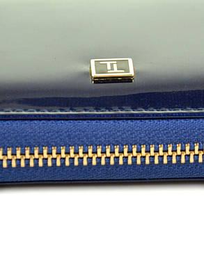 Женский кожаный лаковый кошелек W38/3, фото 2