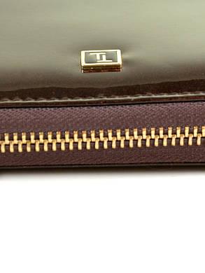 Женский кожаный лаковый кошелек BRETTON W38/4, фото 2