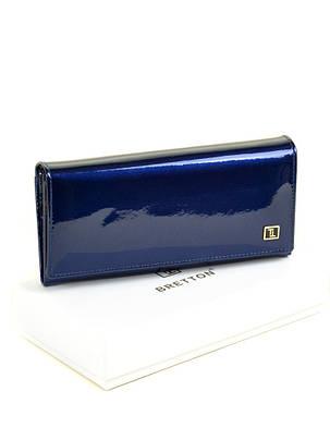 Женский кожаный лаковый кошелек BRETTON W1-V/3, фото 2