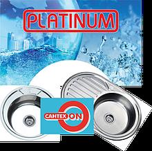 Врізні мийки з нержавіючої сталі Platinum