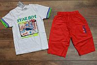 Костюм для мальчиков ( котоновые шорты ) 3-4 года