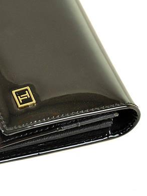 Женский кожаный лаковый кошелек W0807/1, фото 2